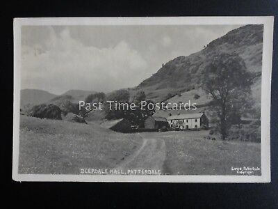 Cumbria PATTERDALE DEEDALE HALL - Old RP Postcard by Lowe