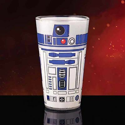 Official Star Wars R2-D2 Droid Design Glass - R2D2 Drinks Glass Boxed