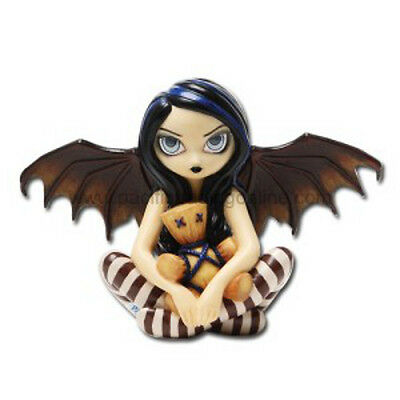 VOODOO IN BLUE Fairy & Doll Figurine Jasmine Becket-Griffith faerie Strangeling
