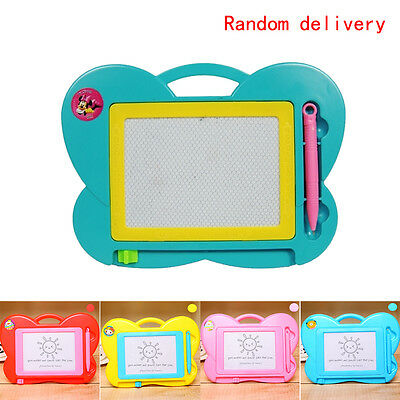 Magnetic Drawing Board Sketch Pad Doodle Writing Craft Art Child