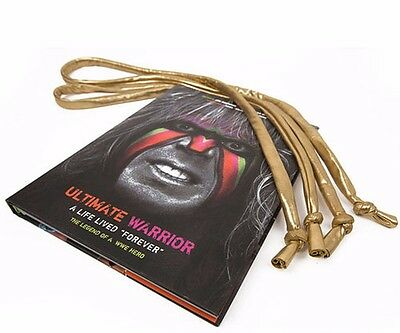 Wwe Ultimate Warrior A Life Lived Forever Book Signed With Tassels Coa And More