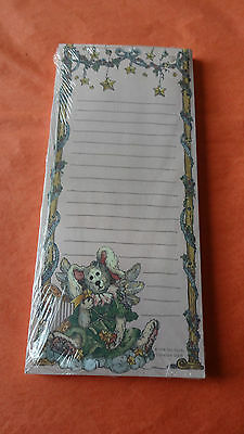 Vintage Boyds Bears Limited Edition Magnetic Notepad Mint Condition