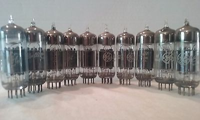 Ge  Electron Tubes    12B4A    Lot Of 10         Untested