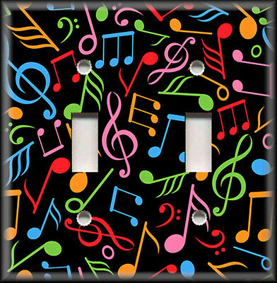 Music Poster//Musical Intruments//Music Notes//Psychedelic//Colorful//Bright//17x22in.