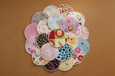 Washable And Reusable Cloth Nursing Pads / Breast Feeding / Baby Shower Gift