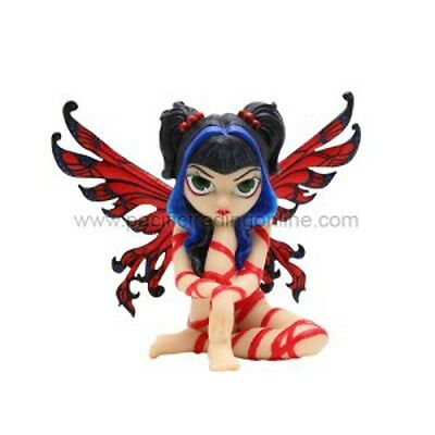 RED RIBBON FAERIE Fairy Figurine Faery Jasmine Becket-Griffith Strangeling