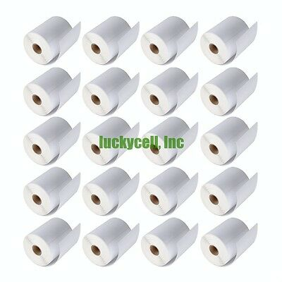 5000 Labels 4x6 Zebra LP2844 ZP450 Direct Thermal Labels 20 rolls