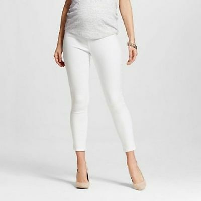 Liz Lange Maternity Over the Belly Ankle Skinny Pants - Stretch Pregnancy Pant