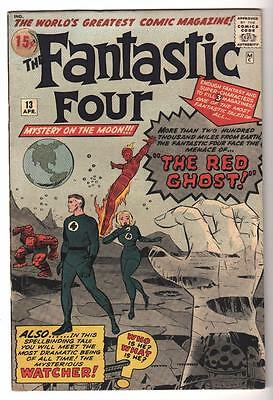 Marvel Comics 6.5 FN+ FANTASTIC FOUR 13 The Red Ghost