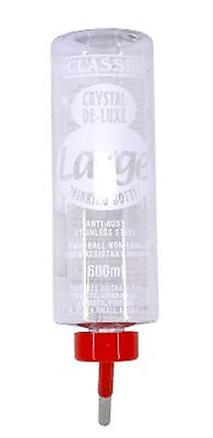 Classic Deluxe Water Bottles For Rabbits/ Guinea Pig / Small Animals 600ml
