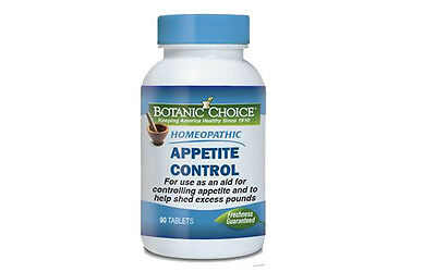 HOMEOPATHIC APPETITE CONTROL FORMULA Natural Weight Loss Supplement 90 TABLETS