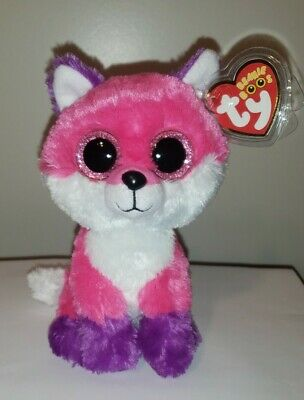 "Ty Beanie Baby Boos - JOEY the 6"" Fox Claires Exclusive ~ 2016 NEW ~ MWMTS"