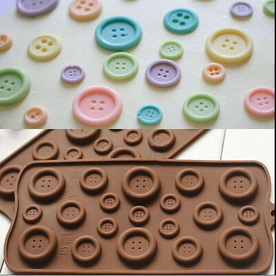 Chocolate Cake Cookie Muffin Jelly Baking Silicone Bakeware Candy Mould Mold