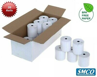 INGENICO iWL252 iWL 252 THERMAL Credit Card Machine Rolls PDQ RECEIPT By SMCO
