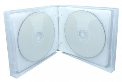 10 Clear 24 Discs VCD PP Poly Binder Sleeve Cases