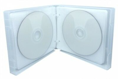 50 Clear 24 Discs VCD PP Poly Binder Sleeve Cases