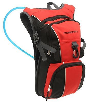 Muddyfox Hydrat Bag 2.0 Backpack Cycle Hydration Bicycle Pack Bike Accessories