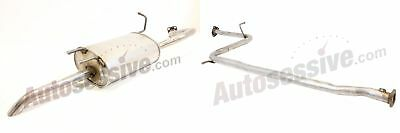 Proton Jumbuck 1.5 Ohc Centre & Rear Exhaust Silencer Sections Middle 12V 03-