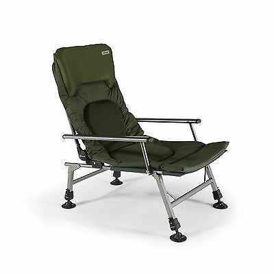 Cyprinus ZoneOut  EXTRA PADDED lightweight reclining fishing chair with arm rest