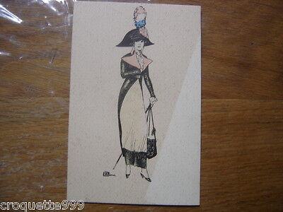cpa Postcard Carte Postale MODE fashion Napoleon ??? LEONNEC