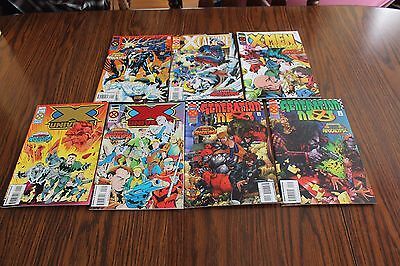 Age Of Apocalypse 7 Comic Lot NM- 9.2 1995 Marvel See My Store
