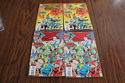 X-Universe Age Of Apocalypse 2 Sets #1 & 2 NM 9.4 1995 Marvel See My Store