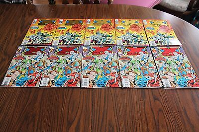 X-Universe Age Of Apocalypse 5 Sets #1 & 2 NM 9.4 1995 Marvel See My Store