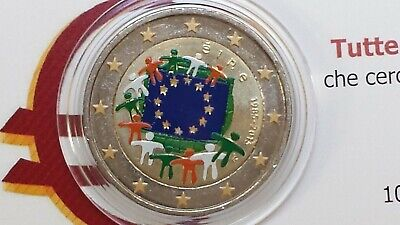 2 euro 2015 IRLANDA colorato farbe color flag flagge EIRE Irlande Ireland Irland