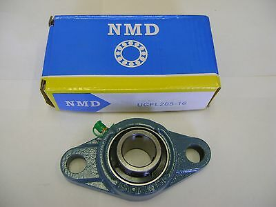 "NMD BRAND EXCELLENT QUALITY UCF205-16 1/"" 4 BOLT FLANGE MOUNTED UNIT BEARING"