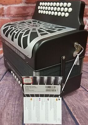 Hohner Compadre FBE Fa MAKE OFFER Acordeon Black Accordion NEW Authorized Dealer