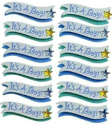 Jolee's IT'S A BOY BANNER REPEATS Stickers