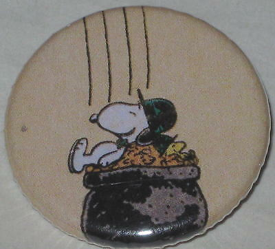 Snoopy Pot 'O Gold Pin 1.25""