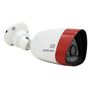 SUNCHAN 960P 1.3MP AHD Outdoor Bullet IR Home Surveillance Security CCTV Camera