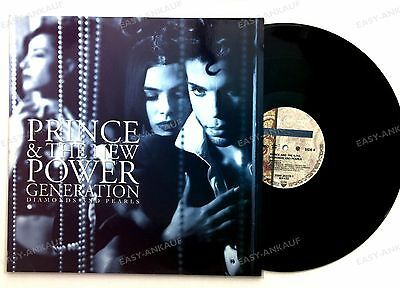 Prince &The New Power Generation-Diamonds And Pearls GER 2LP 1991 + Innerbag //4