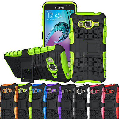 Hybrid Dual Layer Shockproof Cover Protective Case For Samsung Galaxy J3 2016