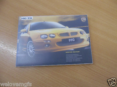 MG ZR MG ZR Owners Handbook / Manual Service Book & Case