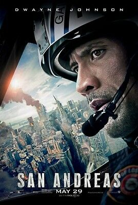 San Andreas - original DS movie poster  D/S 27x40 Final