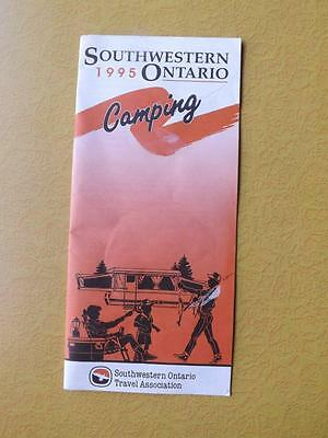 1995 Southwestern Ontario Camping Booklet Information Directions Travel