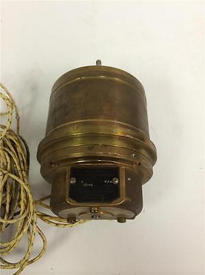 Bendix WWII Aviation Repeater A.C. Synchronous Type II-1 C44968-6 Electric Motor