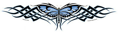 LARGE BUTTERFLY WEAVE Tribal Sticker Car Decal Nene Thomas