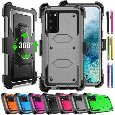 For Samsung GALAXY Note 3/4/5 S6 S7 S8 S9 Plus Hybrid Hard Protective Case Cover
