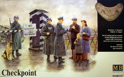 Master Box 1/35 Scale Plastic Model Kit Checkpoint Mb3527