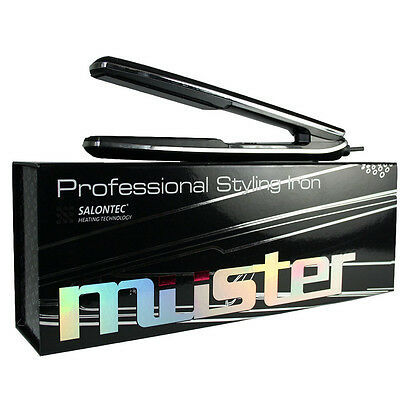 MUSTER Professional Styling Iron/Ceramic Hair Straightener 150°-230°C Adjustable