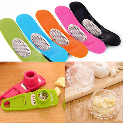 Novelty Grinding Kitchen Garlic Press Cooking Tools Accessories Vegetable