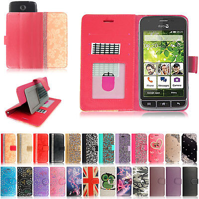 Flip Stand Case Cover Leather Man Wallet For Doro Liberto 810/820/825/8030/8031