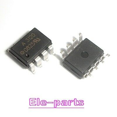 5 PCS HCPL-3120 SMD-8 HCPL3120 A3120 2A Optocoupler