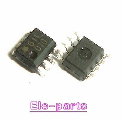 10 PCS HCPL-0611 HCPL0611 611 SMD-8 Optocoupler