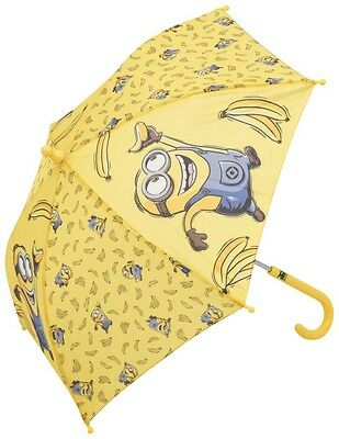 New Despicable Me Minions Junior Kids Umbrella Boys Girls Yellow Gift Present