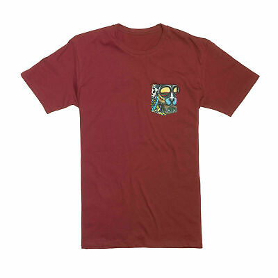 Lib Tech T-Shirt - Travis Pocket Creature Tee - Art By Mike Parillo, Short Sleev