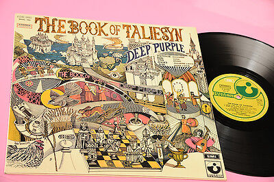 Deep Purple Lp The Book ...1°St Orig Italy 1969 Ex Deep Groove Doppia Numerazion